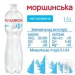 Минеральная вода Моршинская негазированная 1.5л - купить, цены на Метро - фото 2