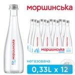 Минеральная вода Моршинская природная негазированная 0,33л