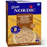 Пластівці Nordic вівсяно-житні з висівками грубого помолу  500г - купити, ціни на Ашан - фото 1