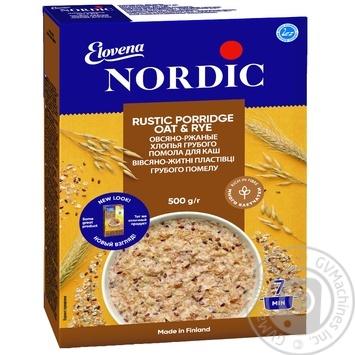 Nordic Rye & Wheat Rustic Porridge 500g - buy, prices for Auchan - photo 1