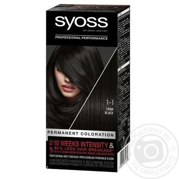 SYOSS 1-1 black paint 115ml - buy, prices for EKO Market - photo 1