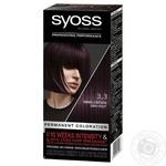 Фарба SYOSS 3-3 Темно-фіолетовий для волосся 115мл