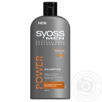 Шампунь Syoss Men Power для нормального волосся 500мл