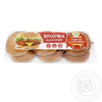Булочки для бургера з кунжутом 6шт*50г - купити, ціни на Ашан - фото 1