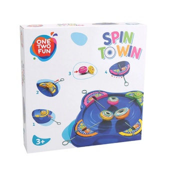 One two fun Spin Town Game