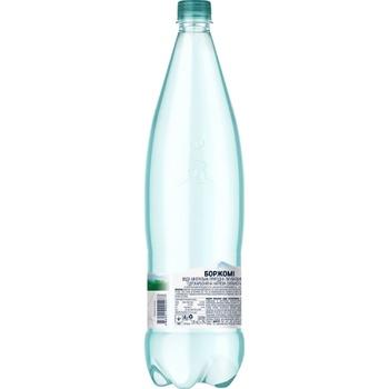Вода Borjomi минеральная сильногазированная пластиковая бутылка 1,25л - купить, цены на Novus - фото 3
