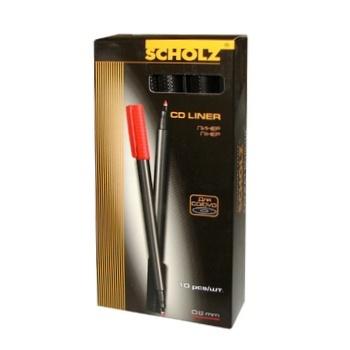 Линер Scholz для CD / DVD 209.SOZ красный 0,6мм - купить, цены на Ашан - фото 1