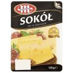 Сыр Млековита Сокол нарезанный 45% 150г