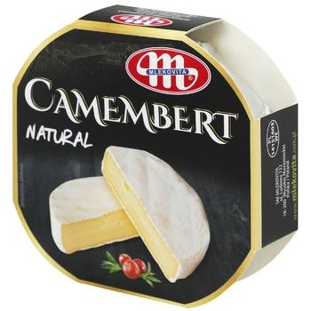 Сир Mlekovita Камамбер 51% коров'яче молоко 120г - купити, ціни на CітіМаркет - фото 1