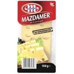 Mlekovita Mazdamer Cheese slicing 26% 100g