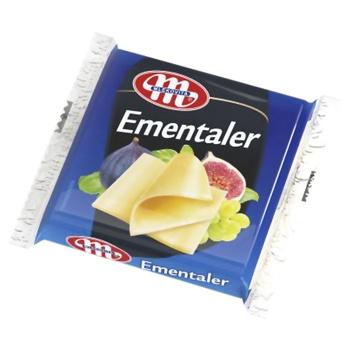 Cheese emmental Mlekovita processed 49% 130g - buy, prices for Furshet - image 1