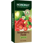 Monomakh Green Tea With Strawberries Packed 25pcs 37,5g