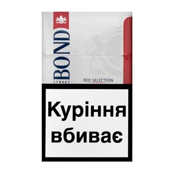 Сигареты Bond Street Red Selection - купить, цены на Ашан - фото 3