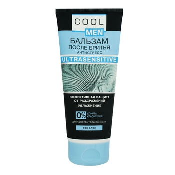 Cool Men Ultrasensitive With Aloe After Shave Balsam - buy, prices for MegaMarket - image 1