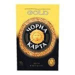Кава Чорна Карта Gold розчинна 95г - купити, ціни на Ашан - фото 1
