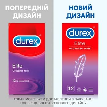 Презервативы Durex Elite особенно тонкие латексные с силиконовой смазкой 12шт - купить, цены на Метро - фото 4