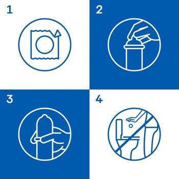 Презервативы Durex Pleasuremax ребристые и точечные 12шт - купить, цены на Метро - фото 4