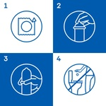 Durex Invisible Ultra-thin Condoms 3pcs - buy, prices for MegaMarket - image 3