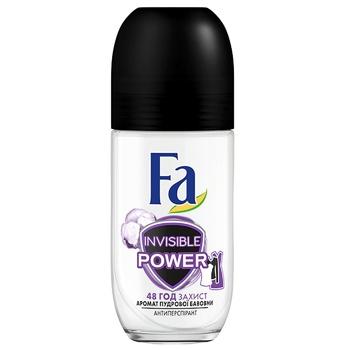 Дезодорант-антиперспирант Fa Sport Invisible для женщин 50мл - купить, цены на ЕКО Маркет - фото 1