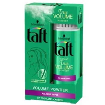 Стайлинг-пудра Taft Объем для волос 10г - купить, цены на Ашан - фото 1