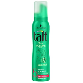 Schwarzkopf Taft Mousse True Volume Mega Strong 150ml - buy, prices for Auchan - photo 3