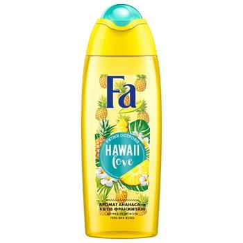 Гель для душа Fa Ритмы островов Hawaii Love Аромат Ананаса и цветов франжипани 250мл