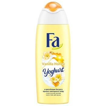 Крем-гель для душа Fa Yoghurt Аромат ванильного меда 250мл
