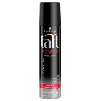 Лак для волосся Taft Power Фіксація 5 75мл - купить, цены на ЕКО Маркет - фото 1