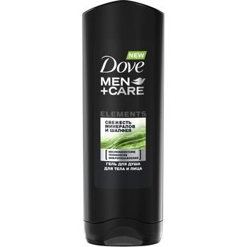 Гель для душу Dove Men+Care Свіжість мінералыв і шавлії 250мл - купити, ціни на Novus - фото 1