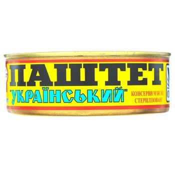 Pate Oniss Ukrainian liver 240g can - buy, prices for Novus - image 1