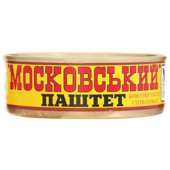 Паштет Онисс Московский 240г - купить, цены на Novus - фото 1