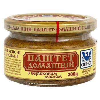Oniss canned liver with meat pate 200g - buy, prices for Novus - image 1