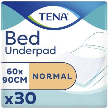Пеленки влагопоглощающие Tena Bed Normal 60х90см 30шт - купить, цены на Восторг - фото 1
