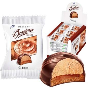 Десерт Konti Bonjour Классика 29г - купить, цены на Восторг - фото 1