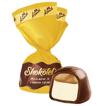 Конфеты Конти Shokotel нуга-желе со вкусом груши