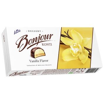 Десерт Konti Bonjour ваниль 232г