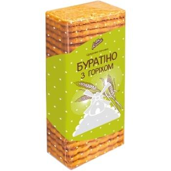 Печенье Конти Буратино 450г - купить, цены на ЕКО Маркет - фото 1