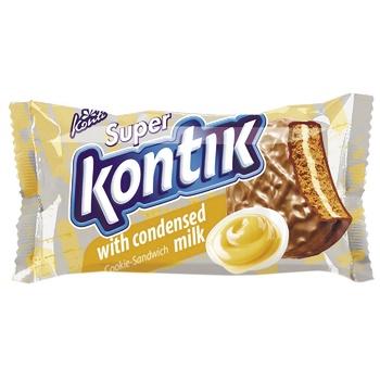 Superkontik Condensed Milk Sandwich Cookie - buy, prices for Furshet - image 1