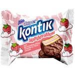 Печенье Conti Super Kontik маршмеллоу со вкусом клубники 30г