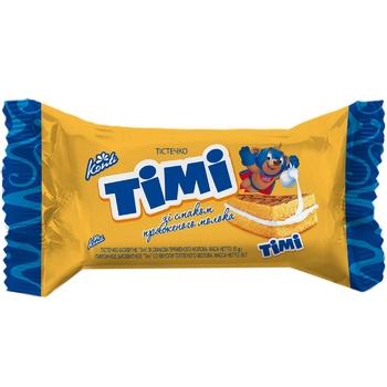 Пирожное Konti Тими бисквитное со вкусом топленого молока 50г