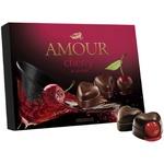 Конфеты Amour Cherry со заспиртованной вишней 151г