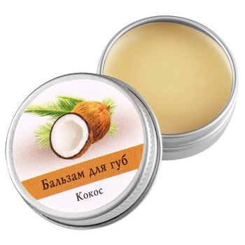 Aromatika Lip Balm Coconut 10g - buy, prices for MegaMarket - image 1