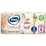 Туалетний папір Zewa Deluxe Aroma Spa трьохшарова 8шт - купити, ціни на Novus - фото 1