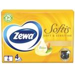 Zewa Soft & Sensetive handkerchiefs 6pcs
