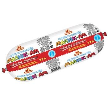 Мороженое Ласунка Пломбир Малюк-Ам 777г - купить, цены на Фуршет - фото 1