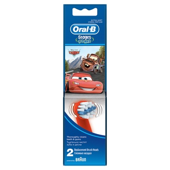 Oral-B Disney Brush Heads for Electric Toothbrush 2pcs - buy, prices for Furshet - image 3