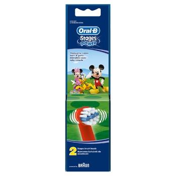 Насадки для электрических зубных щеток Oral-B Дисней 2шт - купить, цены на Восторг - фото 2