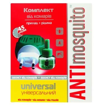 Електрофумігатор Anti Mosquito проти комарів 30мл