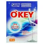 Соль для посудомоечных машин O'KEY гранулированная 700г