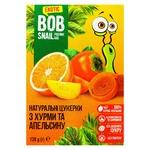 Конфеты Bob Snail хурма-апельсин без сахара 120г